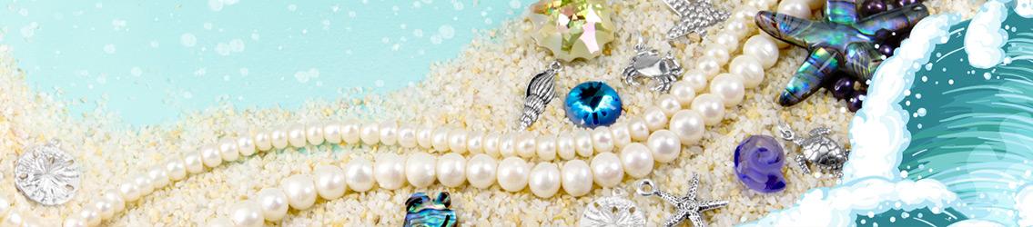 Beach & Sealife Beads, Charms & Pendants