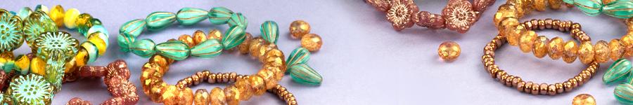 Raven's Journey Czech Glass Beads