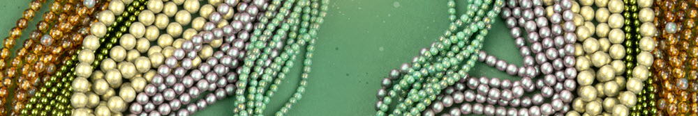 View All Czech Round Beads (Druks)