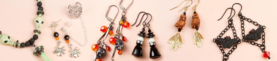 Halloween-Themed Beads, Charms & Pendants