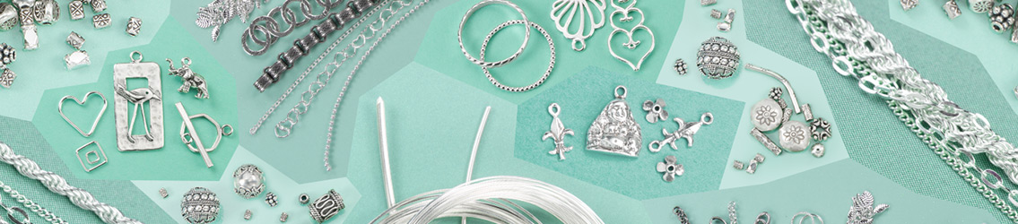 Shop Silver Beads & Jewelry Components