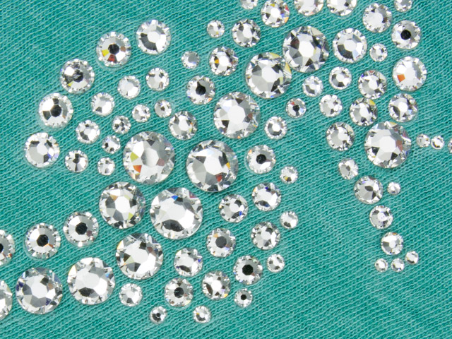 Swarovski crystals rhinestone flatbacks