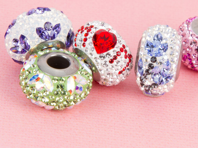 Swarovski Crystals BeCharmed Collection of Beads