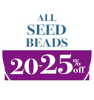 Seed Bead Sale