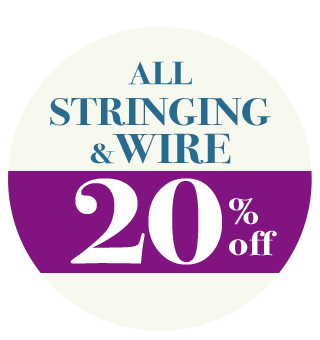 20% Off All Stringing & Wire