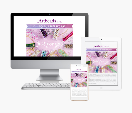 Artbeads Email Gift Certificates
