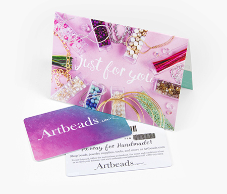Shop Artbeads Gift Cards