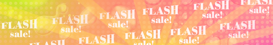 FLASH SALE! Save up to 60%