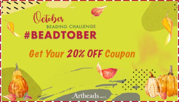 Beadtober 20% Off Storewide Coupon