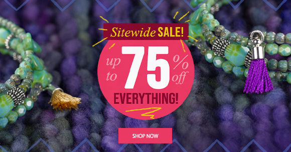 Sitewide Sale up to 75% Off