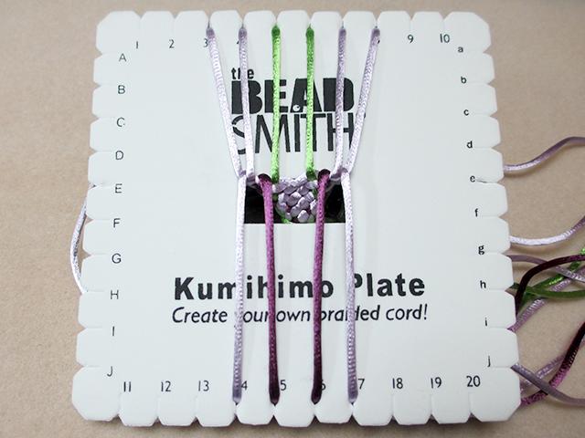 How To Do Flat Kumihimo
