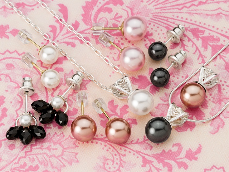 Half-Drilled Pearls